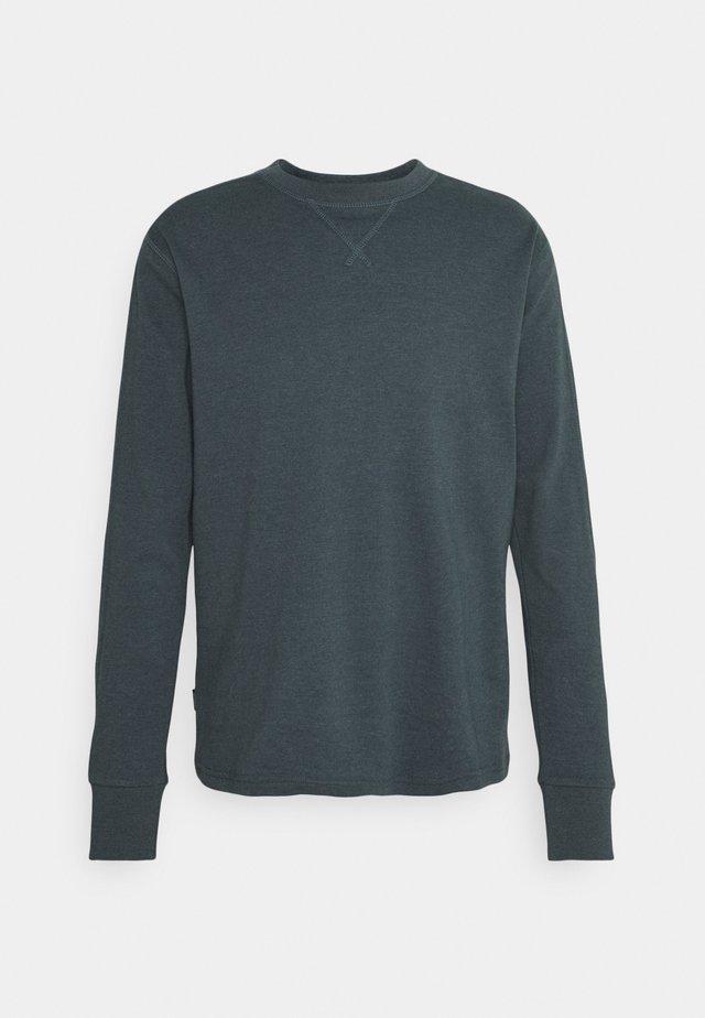 JASPER - Long sleeved top - balsam green melange