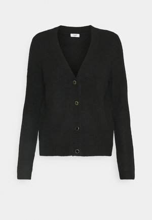JDYGAMMY BUTTON CARDIGAN - Kardigan - black