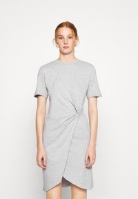 Ética - VERONICA - Jersey dress - heather grey - 0
