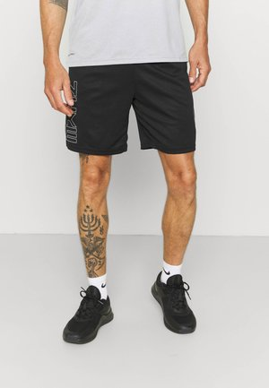 ENERGY - Sports shorts - black/iron grey