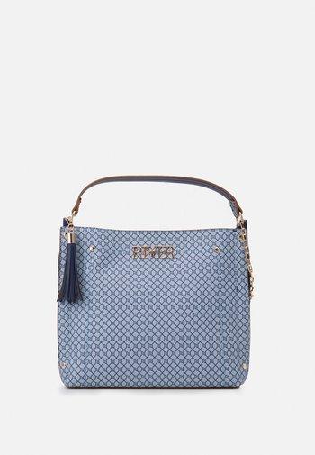 Handbag - blue medium