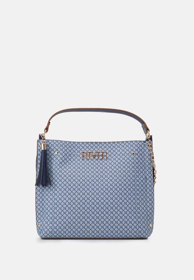 Handtas - blue medium