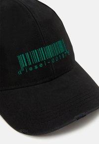 Diesel - C-CODE HAT UNISEX - Cap - black - 3