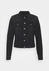ONLY Petite - ONLTIA LIFE JACKET - Kurtka jeansowa - black denim - 0