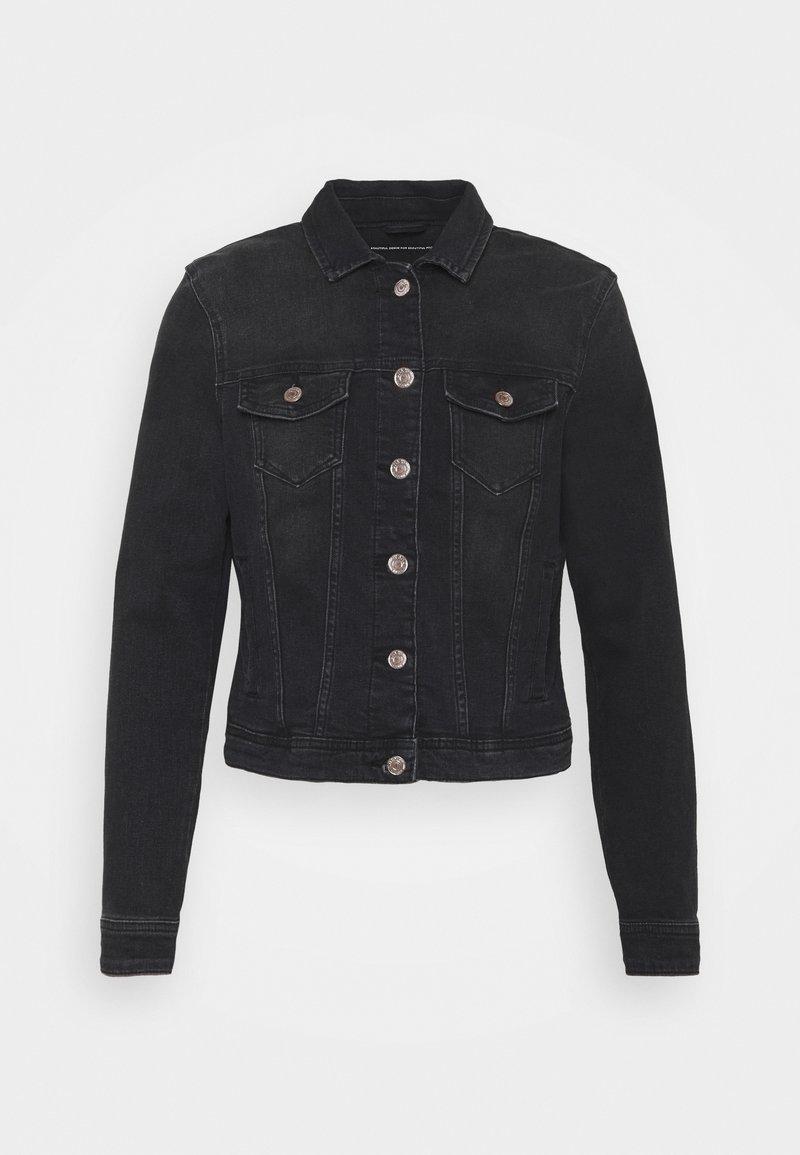 ONLY Petite - ONLTIA LIFE JACKET - Kurtka jeansowa - black denim