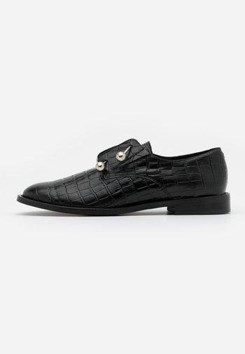 DUTHEN - Nazouvací boty - noir