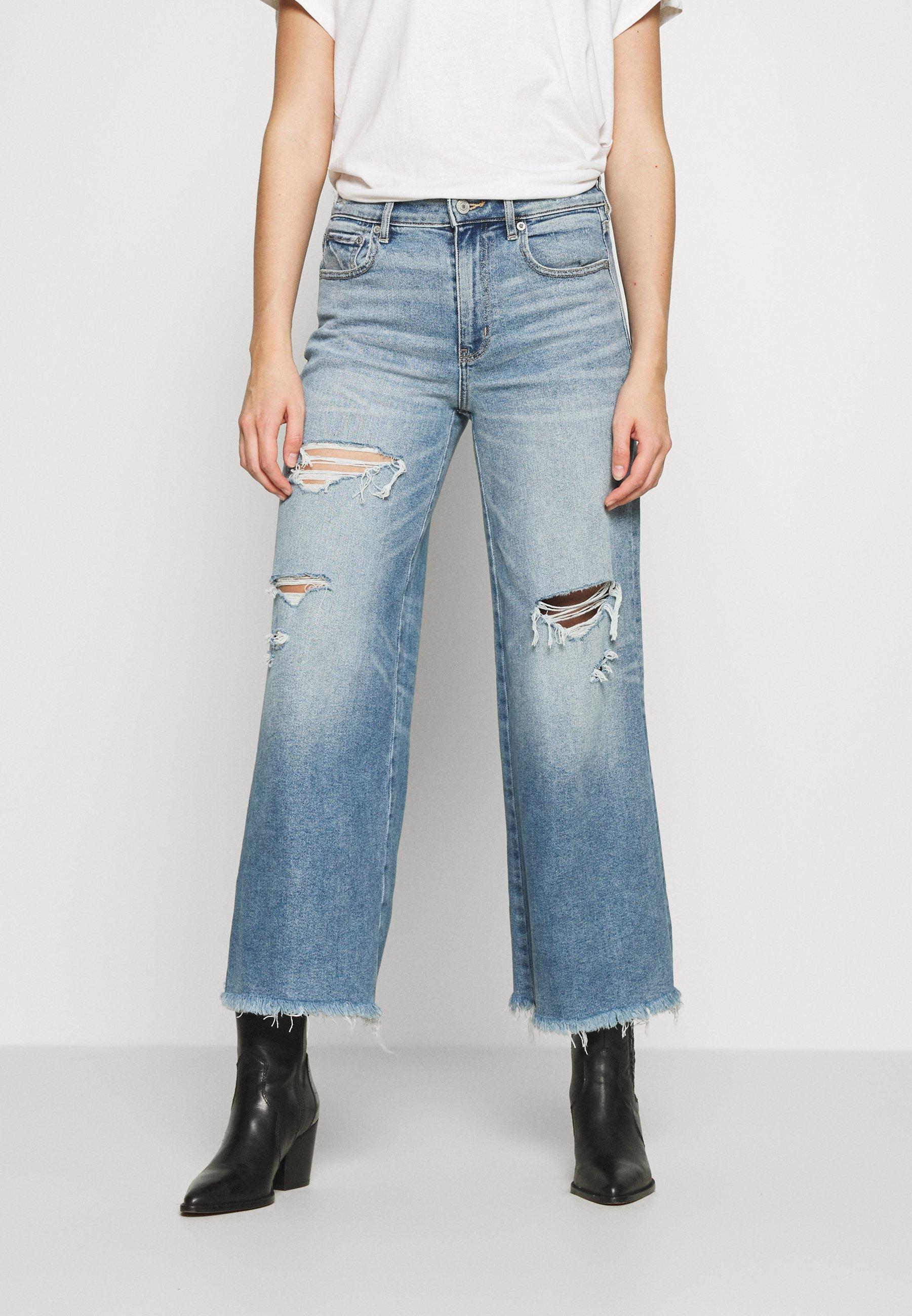 Women WIDE LEG - Flared Jeans
