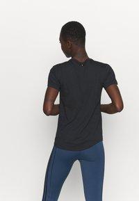 adidas Performance - SPACE TEE - Camiseta estampada - black - 2