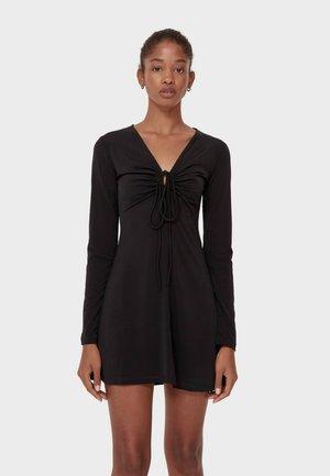 MIT CUT OUTS  - Vestito estivo - black