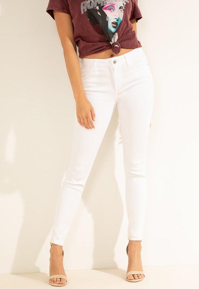 Jeans Skinny Fit - wit