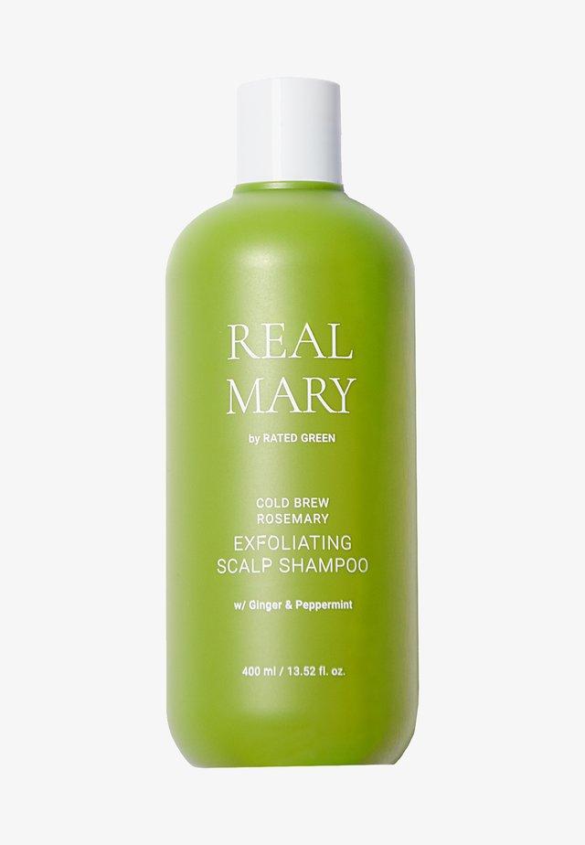 REAL MARY EXFOLIATING SCALP SHAMPOO - Schampo - -