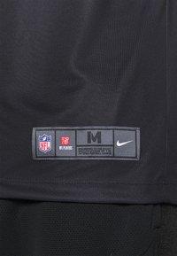Nike Performance - NFL OAKLAND RAIDERS DEREK CARR LEGEND TEAM COLOUR - Klubové oblečení - black - 5