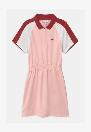 Sukienka z dżerseju - farine/alizarine