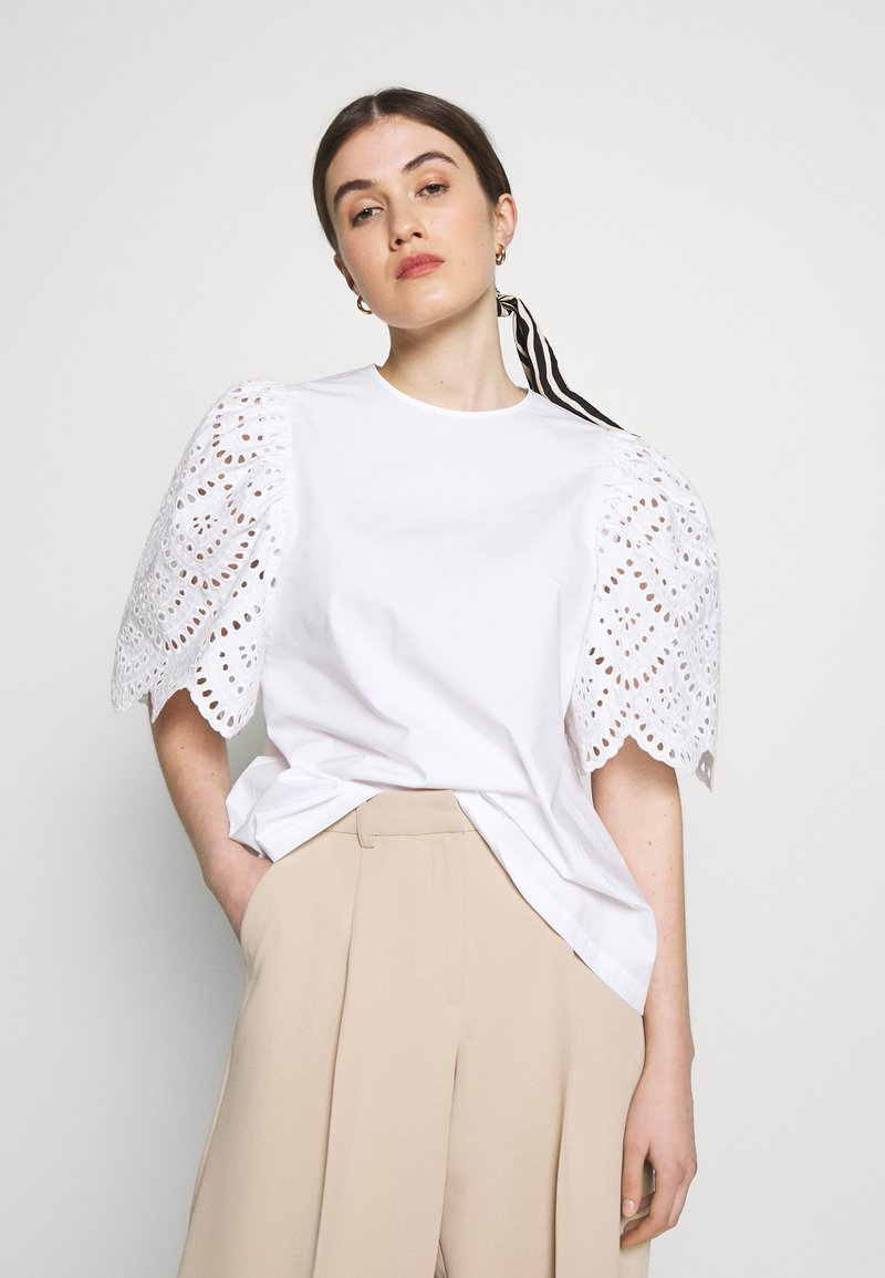 Carin Wester - BLOUSE ANDIE - Bluse - bright white