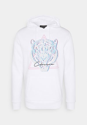 ELECTRIC TIGER HOODY - Sweatshirt - white