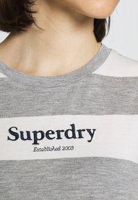 Superdry - DARCY DRESS - Jersey dress - grey - 4