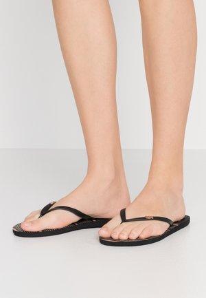 VIVA STAMP - Sandały kąpielowe - black