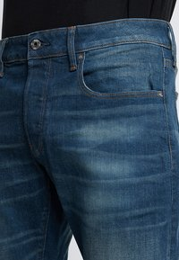 G-Star - 3301 SLIM - Jean slim - medium aged - 3