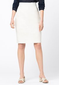HALLHUBER - Pencil skirt - offwhite - 0