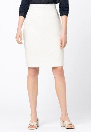 Pencil skirt - offwhite