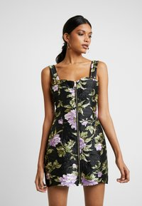 Alice McCall - WILD FLOWERS MINI - Denní šaty - black - 0