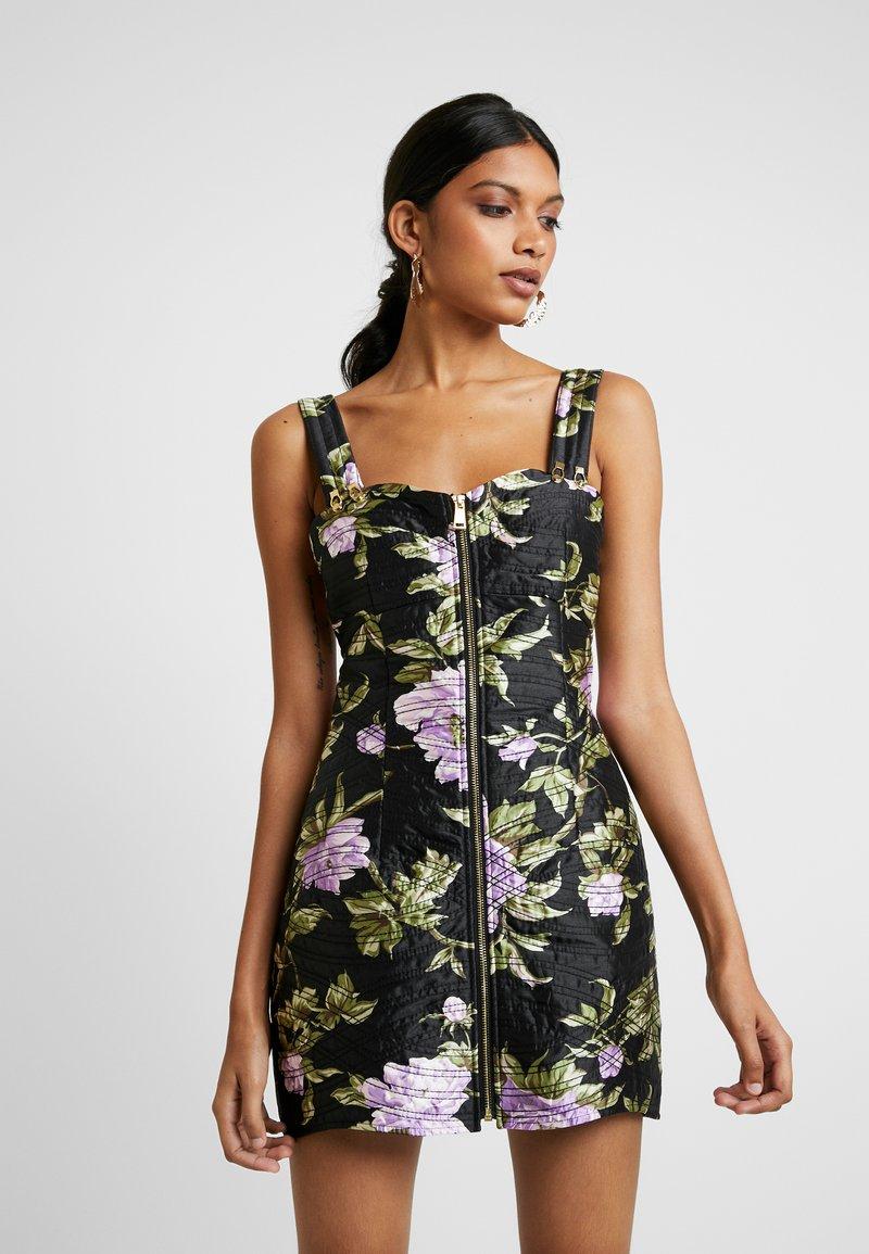 Alice McCall - WILD FLOWERS MINI - Denní šaty - black