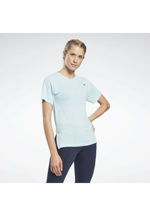WORKOUT READY ACTIVCHILL TRAINING - Basic T-shirt - blue