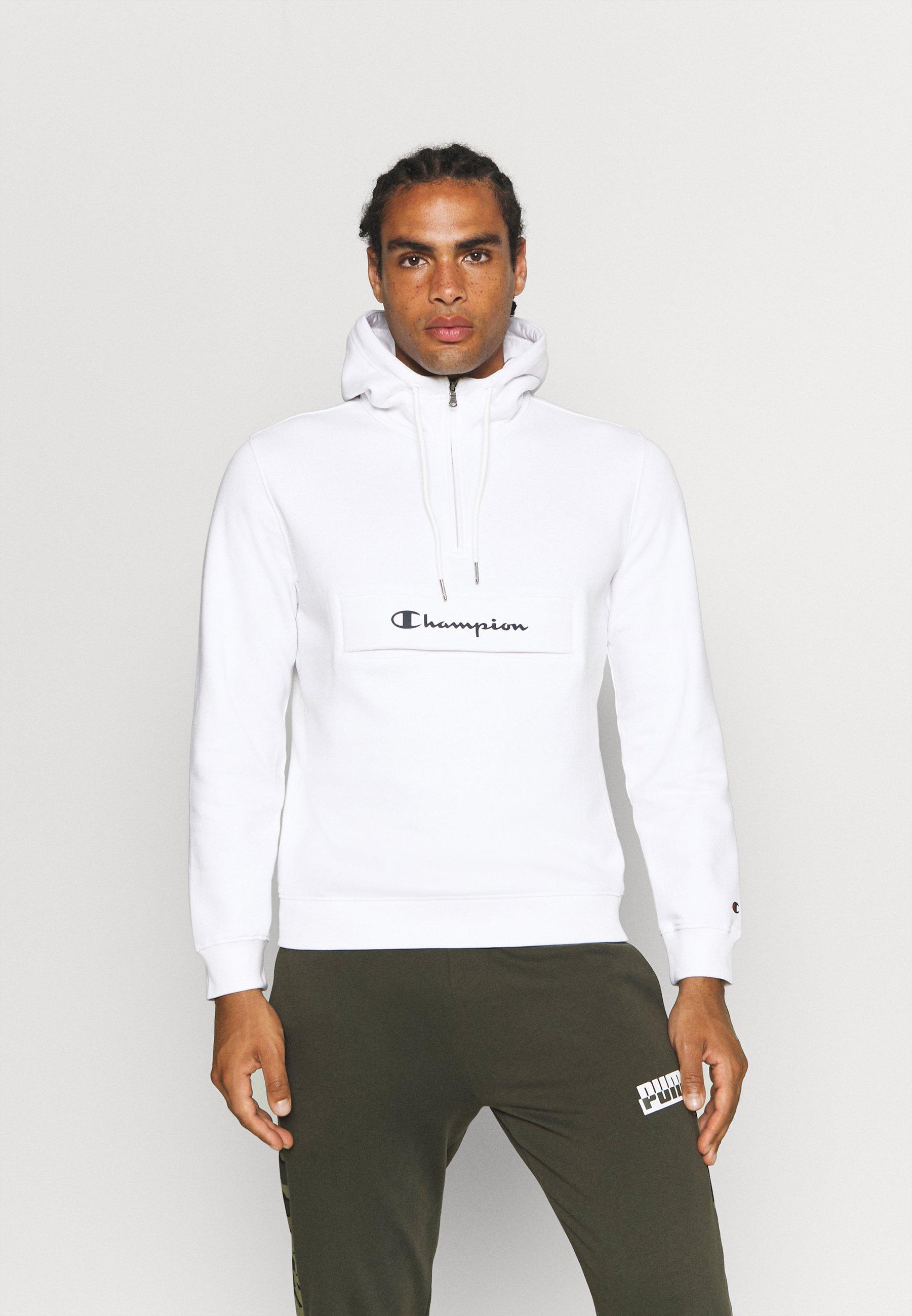 Herren HOODED HALF ZIP  - Sweatshirt