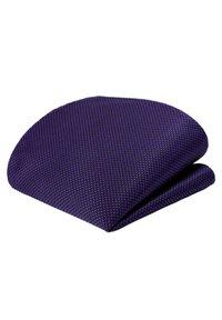GASSANI - 3 SET - MORENO CRAVATTA  - Pocket square - schwarz  purpurviolett lila getupft - 1
