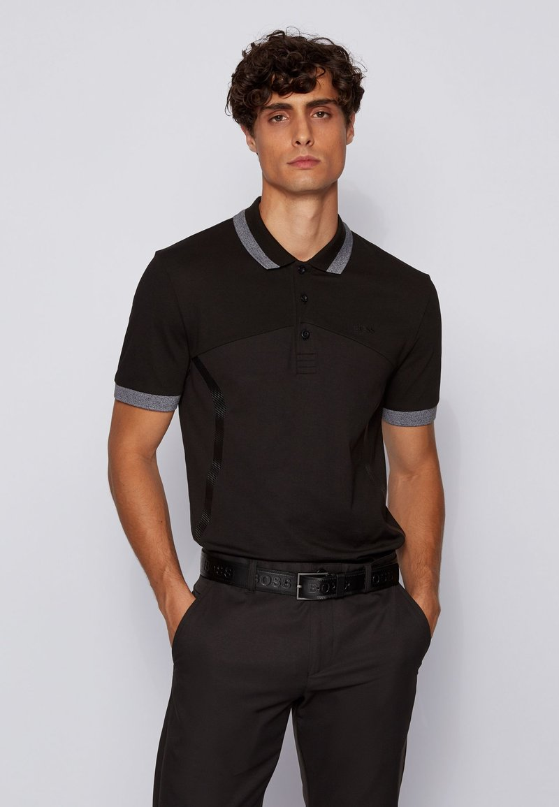 BOSS - PAULE - Polo shirt - black