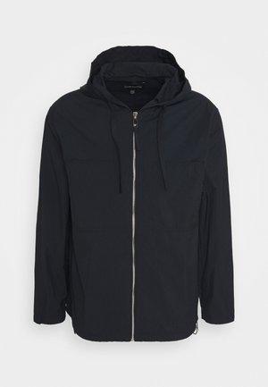 HOODIE JACKET - Summer jacket - black