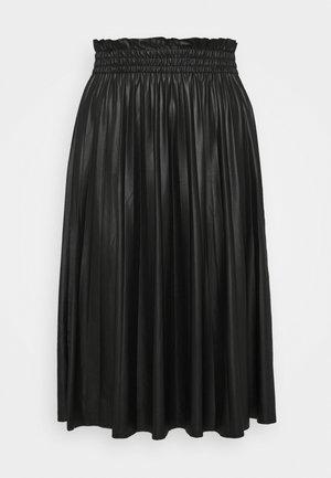 VMCLARIN KNEE SKIRT - Pouzdrová sukně - black