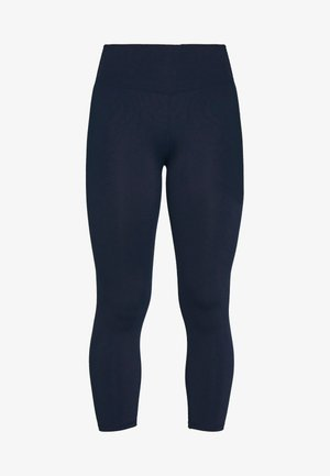 ACTIVE CORE CROPPED - Punčochy - navy