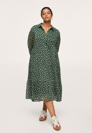 Shirt dress - groen