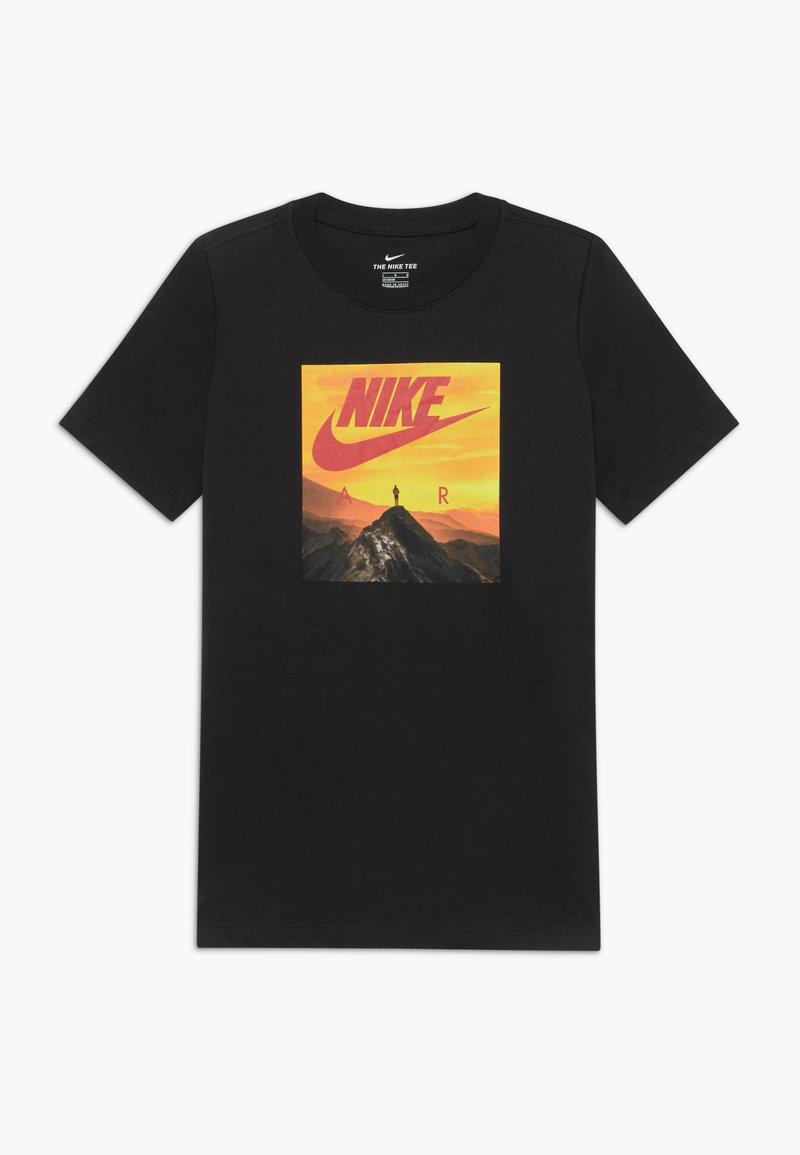 Nike Sportswear - PHOTO - Print T-shirt - black