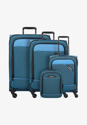 4 PACK - Luggage set - blue