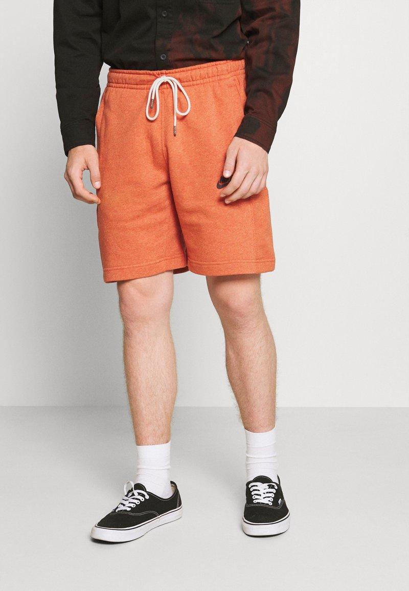 Nike Sportswear - REVIVAL - Shorts - light sienna/dark smoke grey