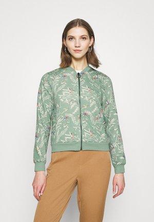 ONLJALENE  - Zip-up hoodie - chinois green