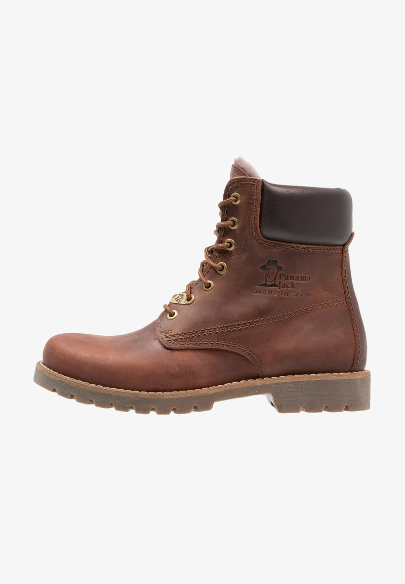 Panama Jack - IGLOO - Lace-up ankle boots - bark