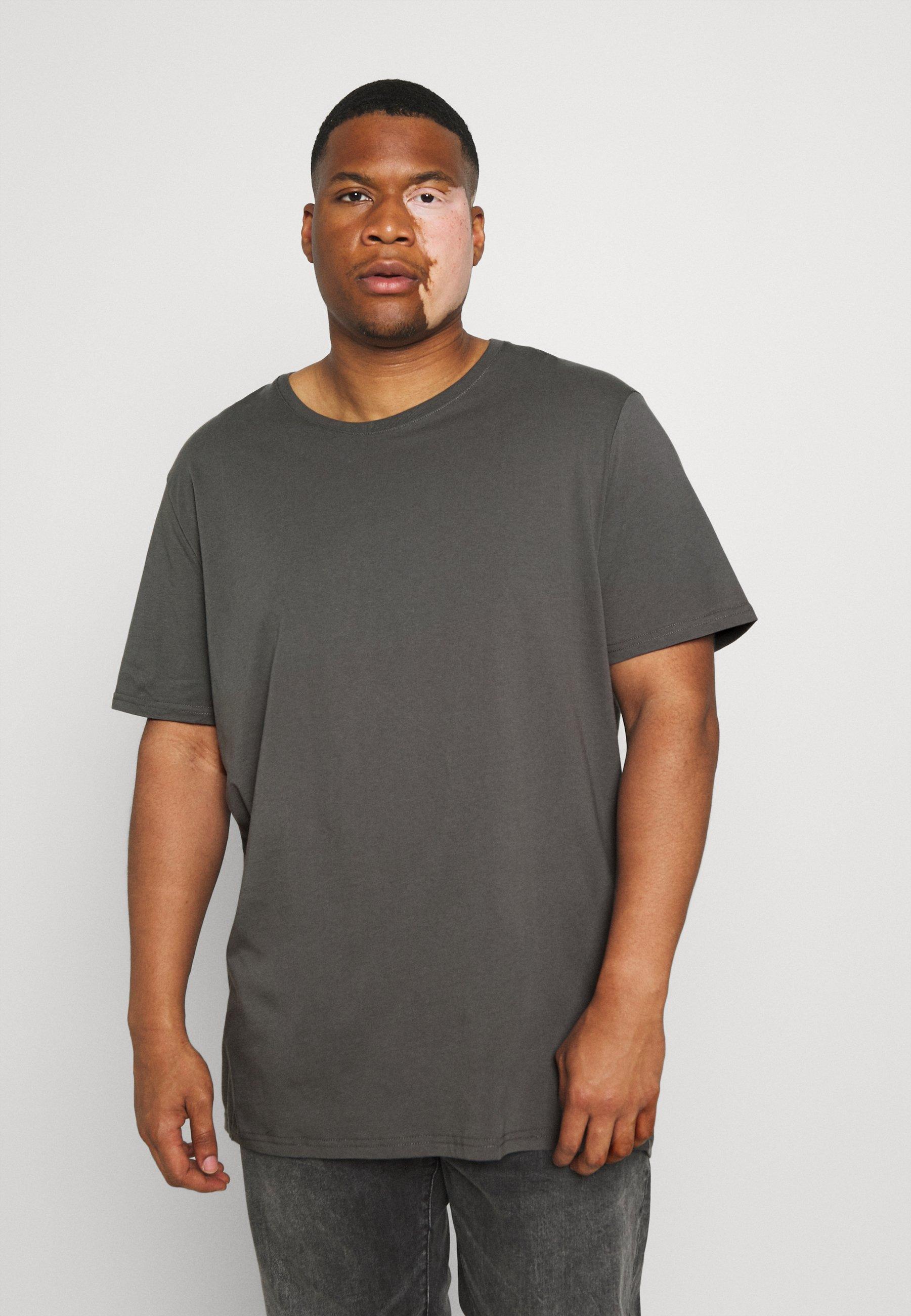 Homme ESSENTIAL LONGLINE SCOOP TEE - T-shirt basique