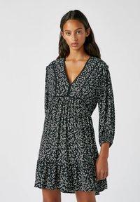 PULL&BEAR - Day dress - black - 0