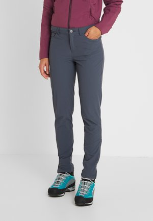 SKYLINE TRAVELER PANTS  REG - Trousers - smolder blue