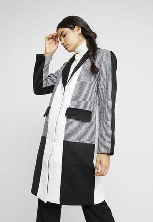 YASROMY - Zimní kabát - black/white