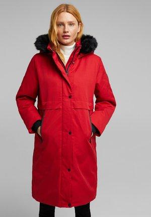 Winter coat - dark red