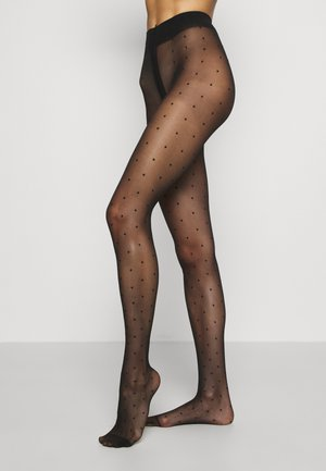 PLUMETIS TIGHT SIGNATURE - Tights - black