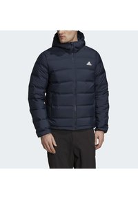 adidas Performance - HELIONIC OUTDOOR HOODED DOWN - Chaqueta de plumas - blue - 8