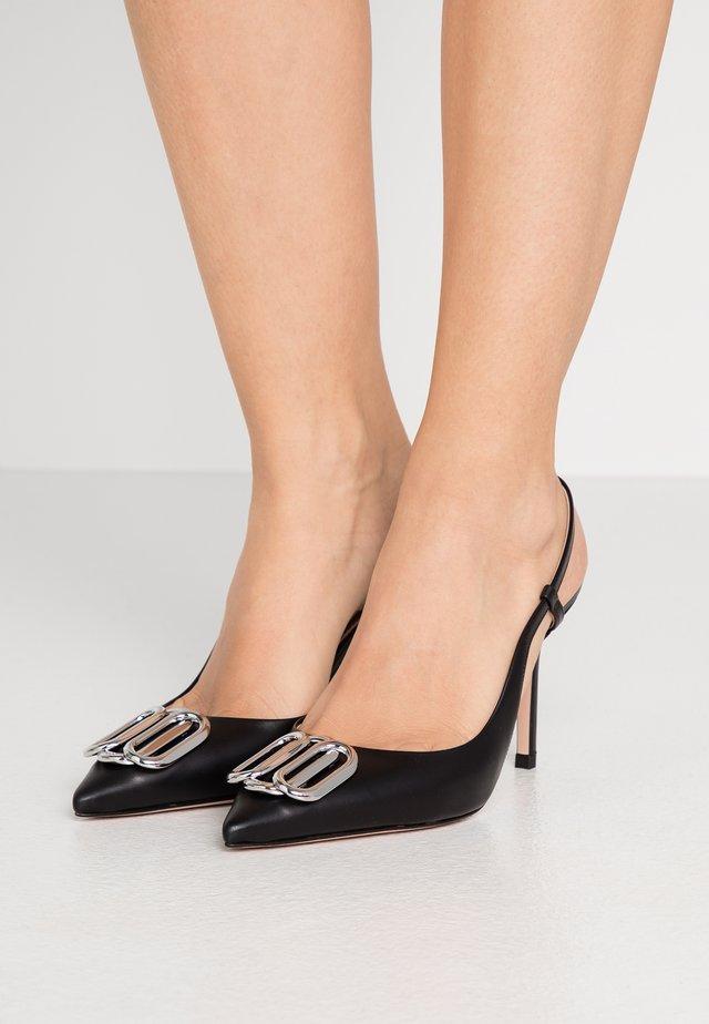 PIPER SLING - Escarpins à talons hauts - black