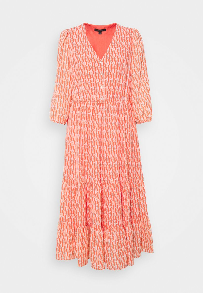 comma - Day dress - coral
