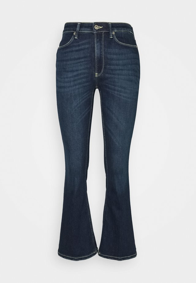 MANDY - Flared Jeans - blue denim