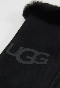 UGG - LOGO MITTEN - Manoplas - black - 3